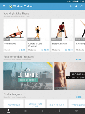 Workout Trainer: fitness coach 10